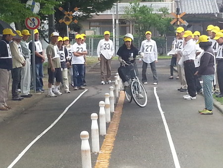 20140628_085200 安城市交通安全きらめき自転車大会
