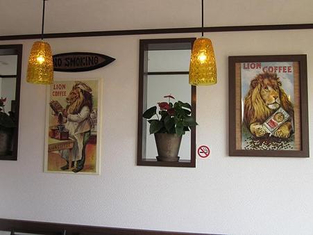Da cafe 店内の絵