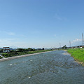 普段の天竜川