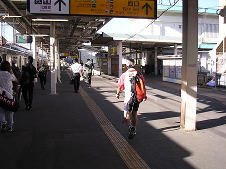 一ノ関駅ホーム1