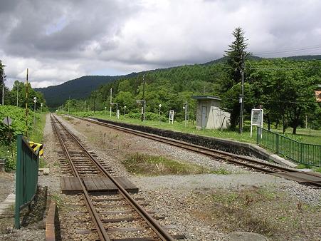 塩狩駅ホーム3