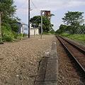 写真: 南弟子屈駅ホーム2