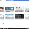 写真: Chrome12 試験運用機能:Most Visited