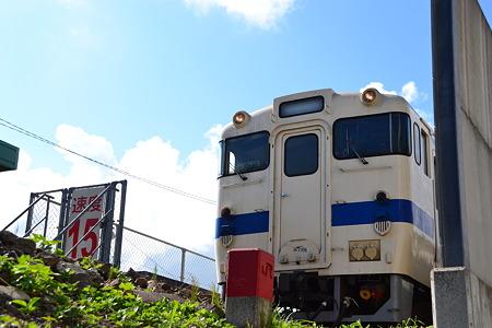 キハ47形×青空@枕崎駅[8/13]