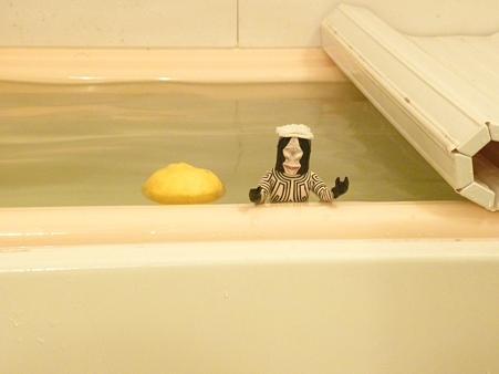 今夜はゆず風呂