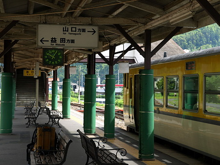 キハ40山口線(津和野駅)8