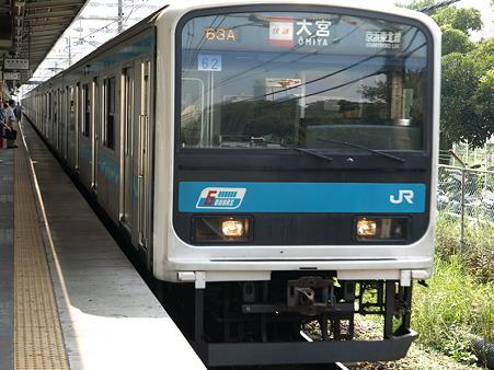 209系根岸線(磯子駅)