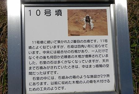 10号墳説明版