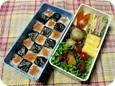 11.04 明太子海苔弁のお弁当(長女)027