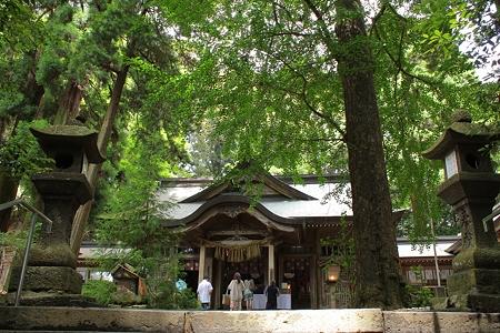 高千穂神社・拝殿1