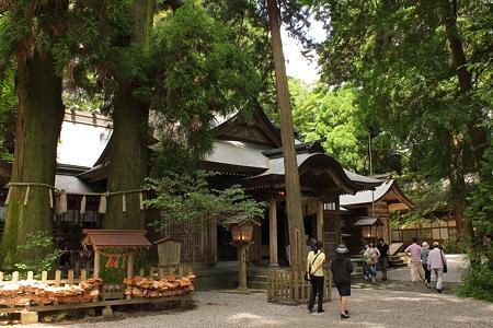 高千穂神社・拝殿2