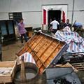 暴風雨で家が村が壊れちゃったby浙江省の農村 (6)