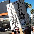 写真: TPP交渉参加阻止緊急集会8