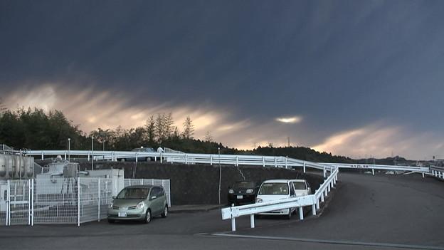 写真: 【新燃岳の噴火】宮崎市の様子7