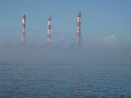 鹿島工場煙突