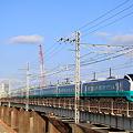 Photos: 利根川を渡る特急フレッシュひたち