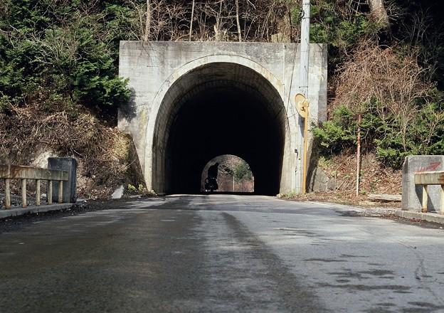 津軽の山道で