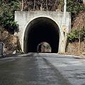 写真: 津軽の山道で