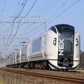 総武本線 物井-佐倉 E259系 特急成田エクスプレス