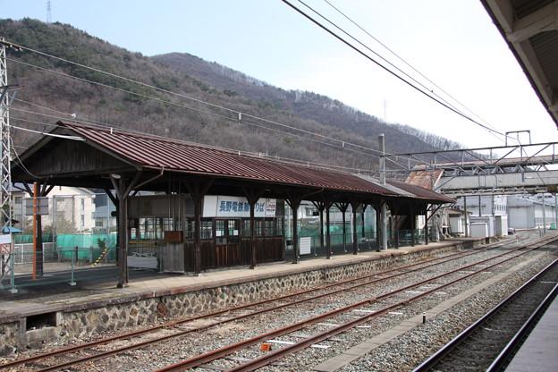 Photos: 長野電鉄 屋代線 屋代駅ホーム2