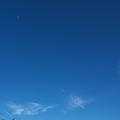 嵐の前の青空♪