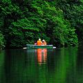 緑の湖に^^