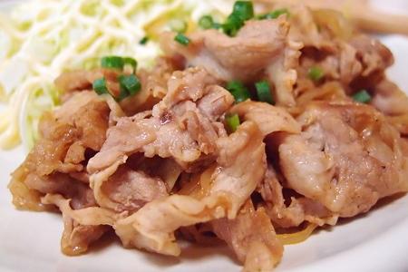豚肉のバルサミコ酢炒め