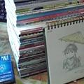 Photos: 3日間の合計78冊+CD3...
