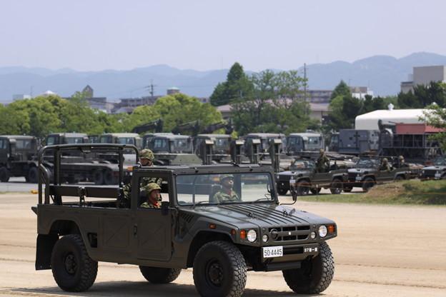 陸上自衛隊 大久保駐屯地 高機動車