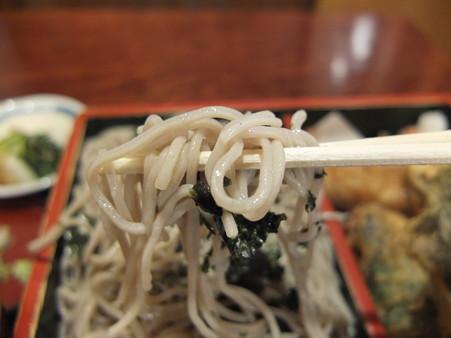 久保田屋 天ざるそば 蕎麦アップ2