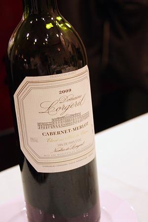 20110324_ビストロ ぺるしぃ 赤ワイン2