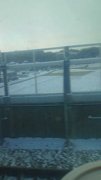 写真: 雪景色にワクワクしています\(^O^)/