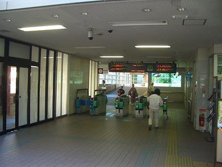 西鉄二日市駅東口改札