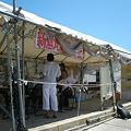 写真: 辺野古のテント外観