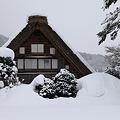 豪雪の白川郷