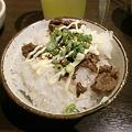写真: やきにくキング南郷店 牛すじマヨ丼