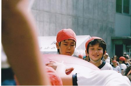 20100605龍運動会3年生玉転がし