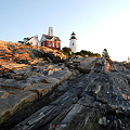 Pemaquid Point Lighthouse and D 8-13-11