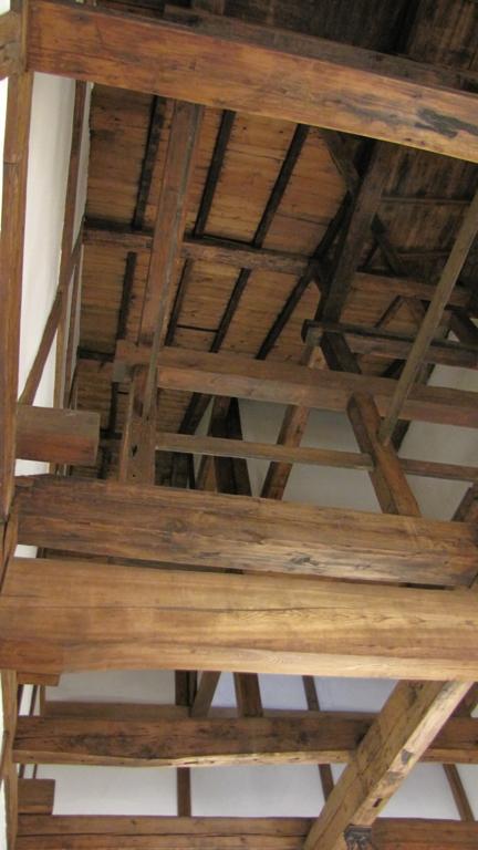 銀鱗荘,ロビーの天井