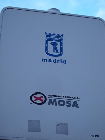 マドリードのサイン