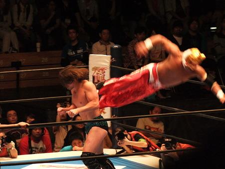 新日本プロレス BEST OF THE SUPER Jr.XIX Bブロック公式戦 タイガーマスクvsブライアン・ケンドリック (2)