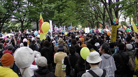 渋谷 原発やめろデモ 20110507 (3)