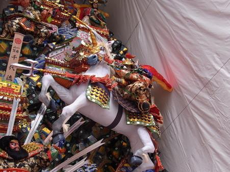 06 博多祇園山笠 飾り山 千代流 2012年 三國志(さんごくし)写真画像4