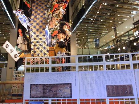 23 博多祇園山笠 飾り山 ソラリア 横から 2012年 写真画像