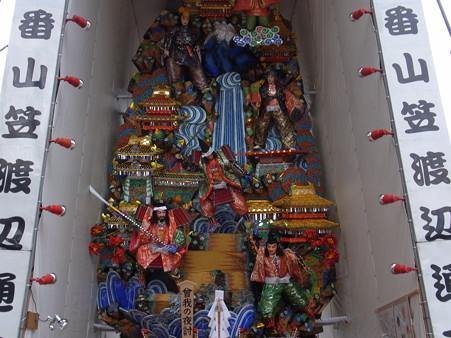 28 博多祇園山笠 飾り山 ホテルニューオータニ 福岡 曽我の夜討(そがのようち)2012年 写真画像4