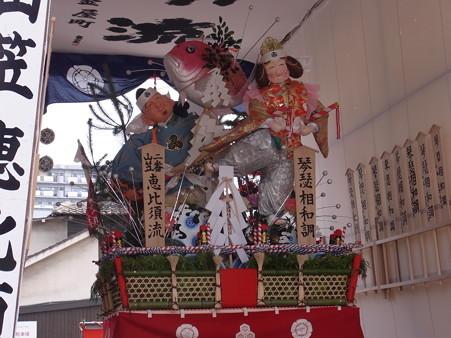 37 博多祇園山笠 恵比須流 舁き山 琴瑟相和調(きんしつあいわしてととのう)2012年 写真画像2