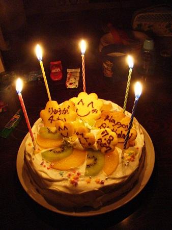 2011-7-7 ryu*ryuのバースディケーキ