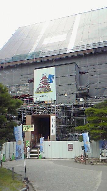 写真: 鶴ヶ城なう。工事中って聞い...