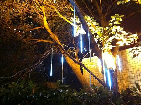 上海の電飾