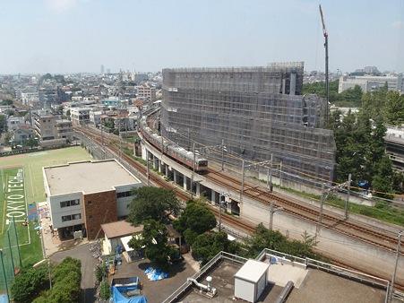 東京工業大学 エネルギー環境イノベーション棟 工事中